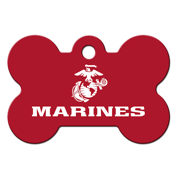 Fido Armed Forces Marines ID Tag, Large - Carousel image #1
