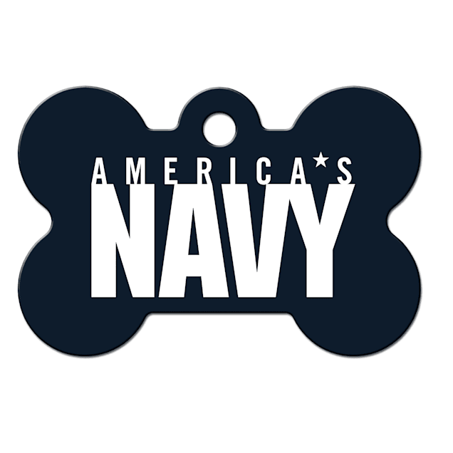 Fido Armed Forces Navy ID Tag, Large - Carousel image #1