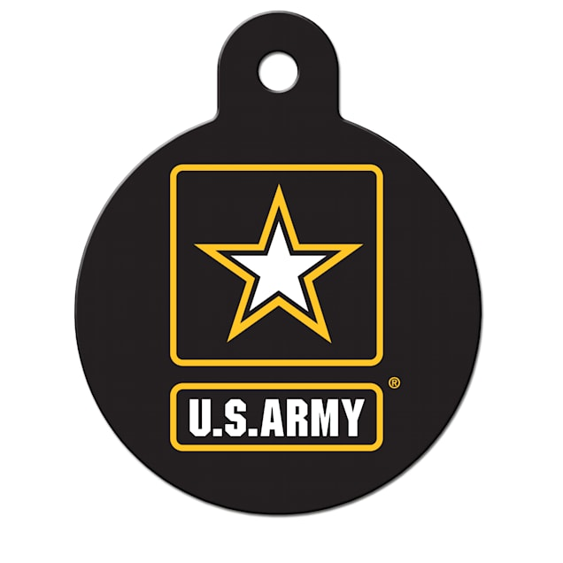 Fido Armed Forces Army ID Tag, Large - Carousel image #1
