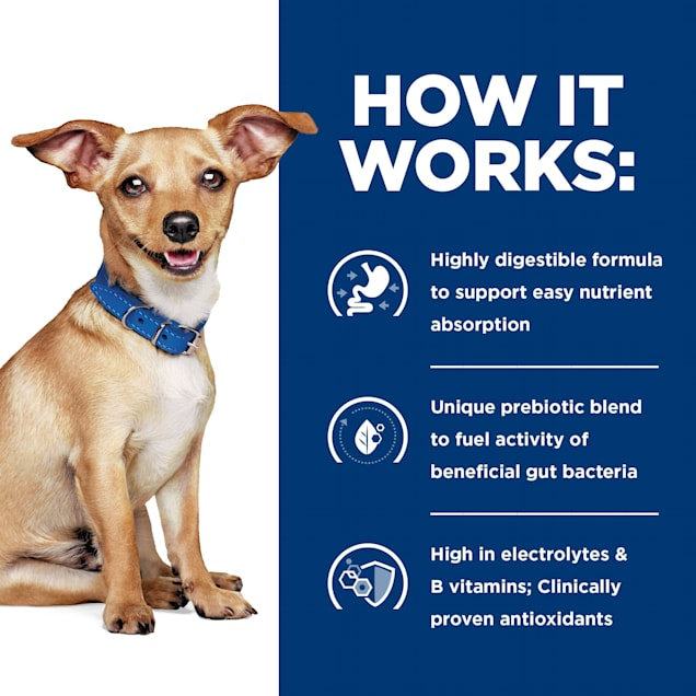 Hill's Prescription Diet i/d Digestive Care Small Bites Chicken Flavor Dry Dog Food, 7 lbs. - Carousel image #1