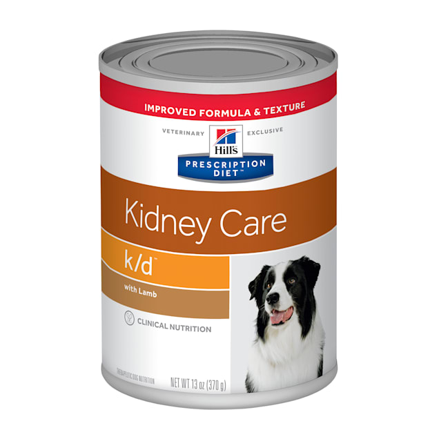 Hill's Prescription Diet k/d Kidney Care with Lamb Canned Dog Food, 13 oz., Case of 12 - Carousel image #1