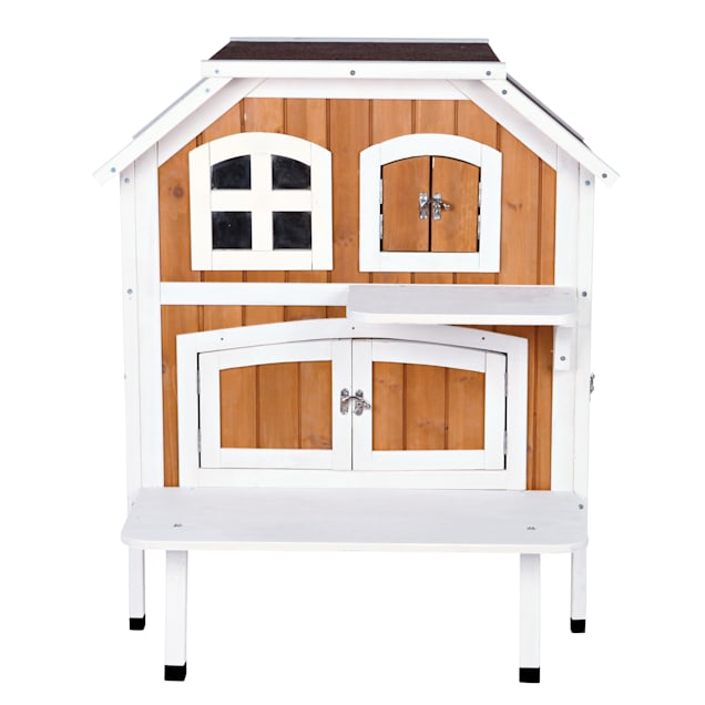"Trixie 2-Story Cat Cottage, 35.25""H - Carousel image #1"