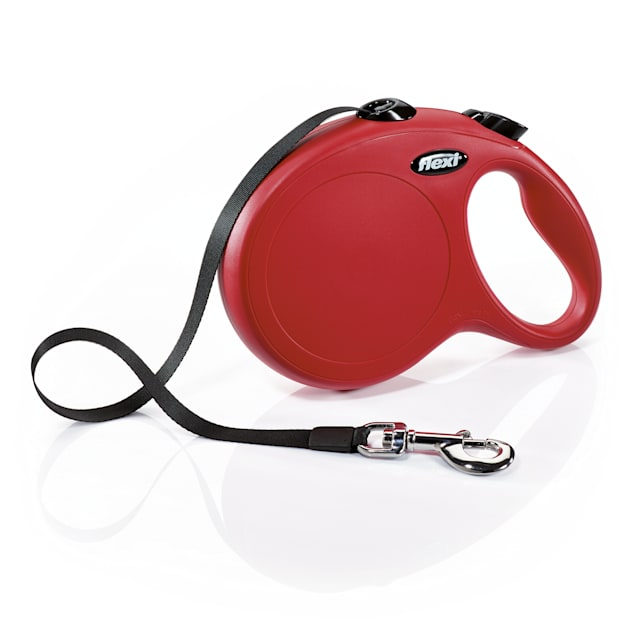 Flexi Classic Retractable Dog Leash in Red, Large 26' - Carousel image #1
