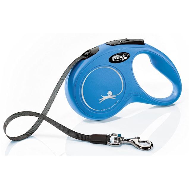 Flexi Classic Retractable Dog Leash in Blue, Small 16' - Carousel image #1