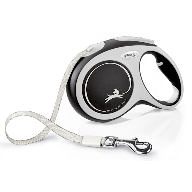 Flexi Comfort Retractable Dog Leash in Grey, Large 16' - Carousel image #1