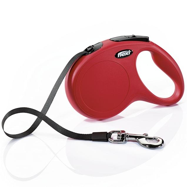 Flexi Classic Retractable Dog Leash in Red, Medium 16' - Carousel image #1