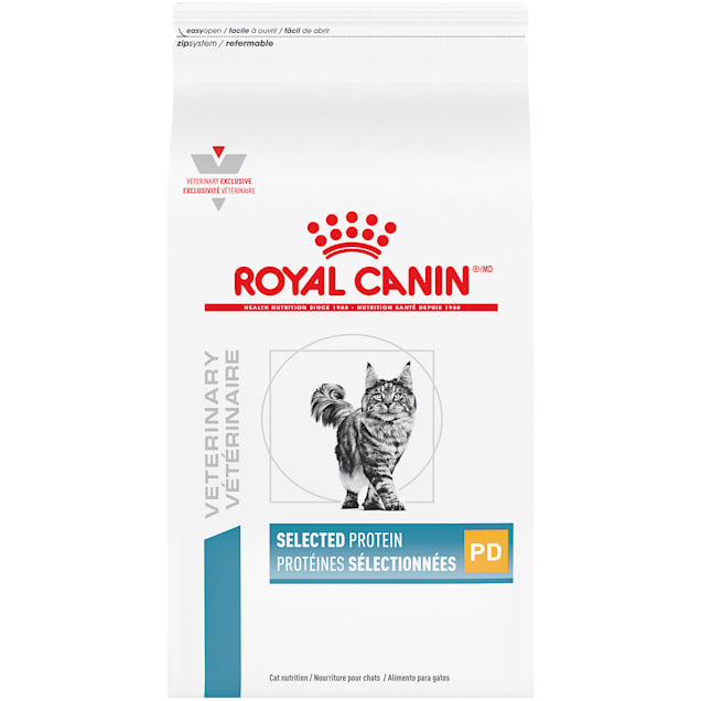 Royal Canin Veterinary Diet Feline Selected Protein Adult Pd Dry Cat Food, 17.6 lbs. - Carousel image #1