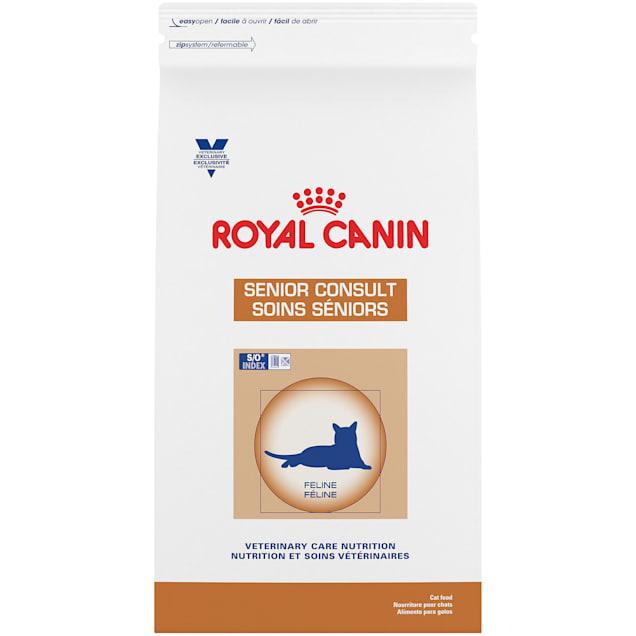 Royal Canin Veterinary Diet Nutrition Feline Senior Consult Dry Cat Food, 7.7 lbs. - Carousel image #1