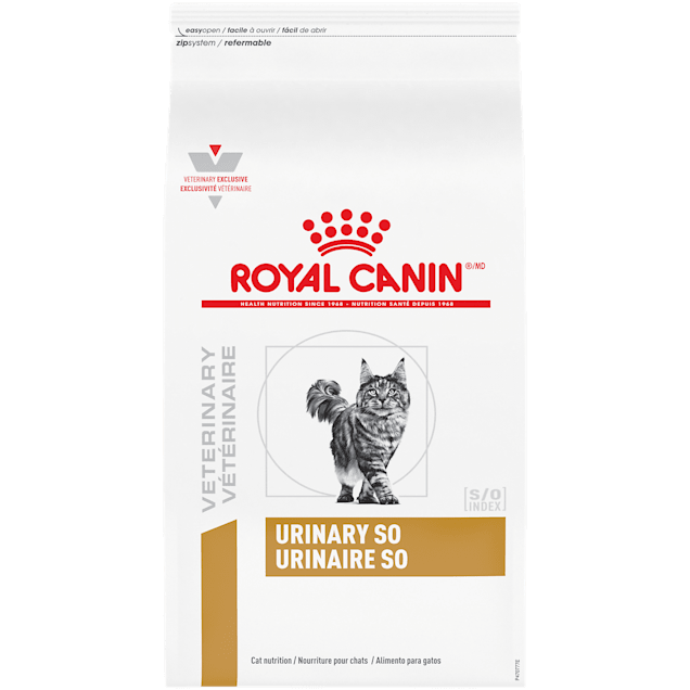 Royal Canin Veterinary Diet Feline Urinary SO Dry Cat Food, 17.6 lbs. - Carousel image #1