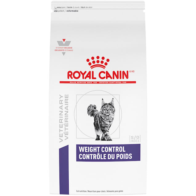 Royal Canin Veterinary Diet Nutrition Feline Weight Control Dry Cat Food, 17.6 lbs. - Carousel image #1