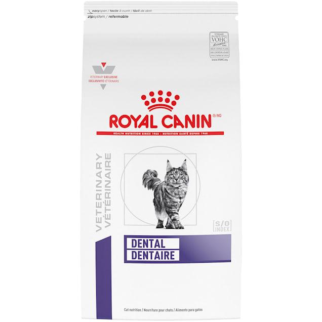 Royal Canin Veterinary Diet Nutrition Feline Dental Dry Cat Food, 7.7 lbs. - Carousel image #1