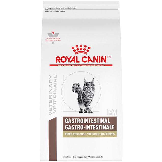 Royal Canin Veterinary Diet Gastrointestinal Fiber Response Dry Cat Food, 8.8 lbs. - Carousel image #1