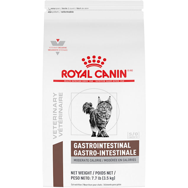 Royal Canin Veterinary Diet Gastrointestinal Dry Cat Food, 7.7 lbs. - Carousel image #1