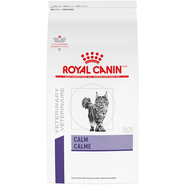 Royal Canin Veterinary Diet Feline Calm Dry Cat Food, 8.8 lbs. - Carousel image #1