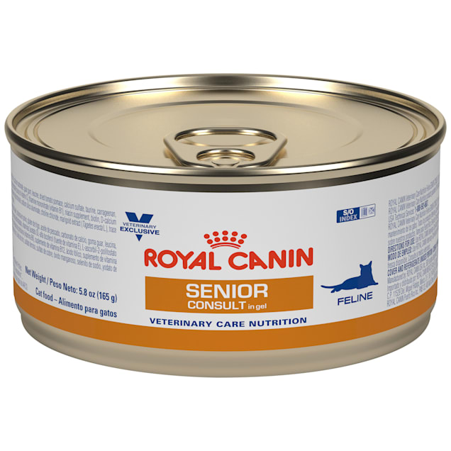Royal Canin Veterinary Care Nutrition Feline Senior Consult In Gel Canned Cat Food, 5.8 oz., Case of 24 - Carousel image #1