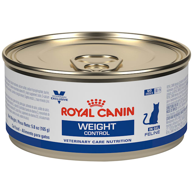Royal Canin Veterinary Diet Nutrition Feline Weight Control In Gel Canned Cat Food, 5.8 oz., Case of 24 - Carousel image #1