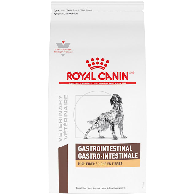 Royal Canin Veterinary Diet Gastrointestinal High Fiber Dry Dog Food, 17.6 lbs. - Carousel image #1