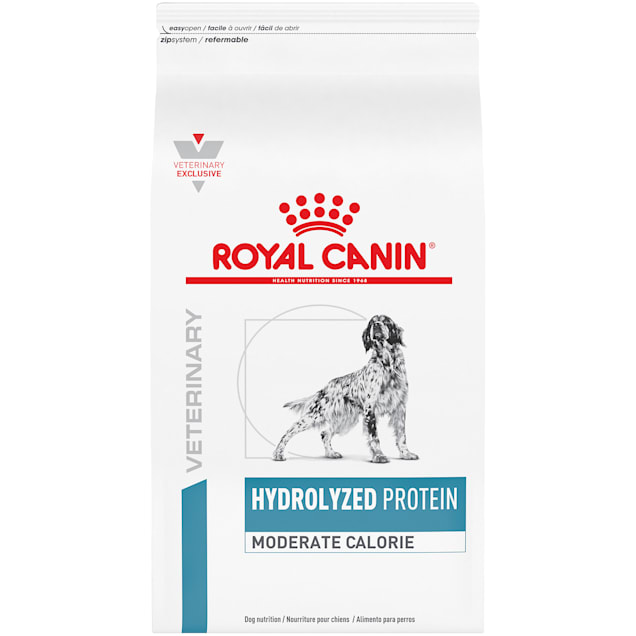 Royal Canin Veterinary Diet Canine Hydrolyzed Protein Moderate Calorie Dry Dog Food, 24.2 lbs. - Carousel image #1