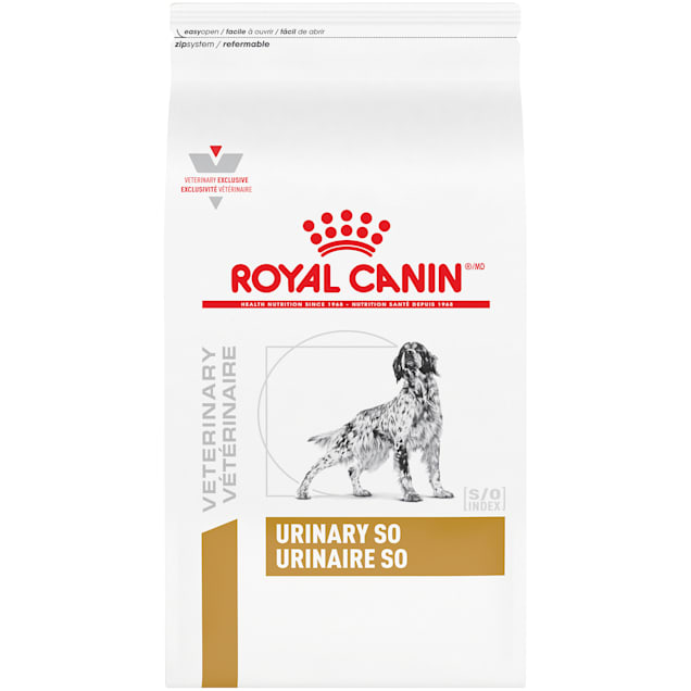 Royal Canin Veterinary Diet Canine Urinary SO Dry Dog Food, 25.3 lbs. - Carousel image #1