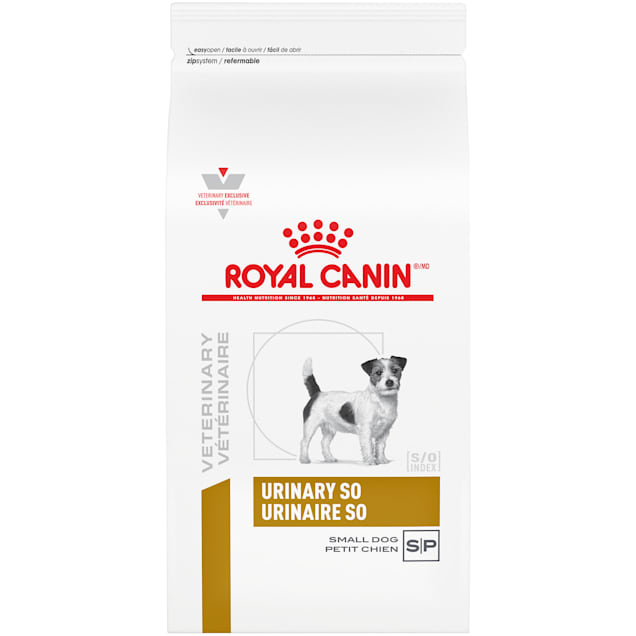 Royal Canin Veterinary Diet Canine Urinary SO Small Dog Dry Dog Food, 8.8 lbs. - Carousel image #1