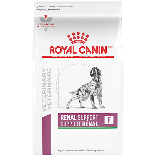 Royal Canin Veterinary Diet Renal Support F (Flavorful) Dry Dog Food, 17.6 lbs. - Carousel image #1