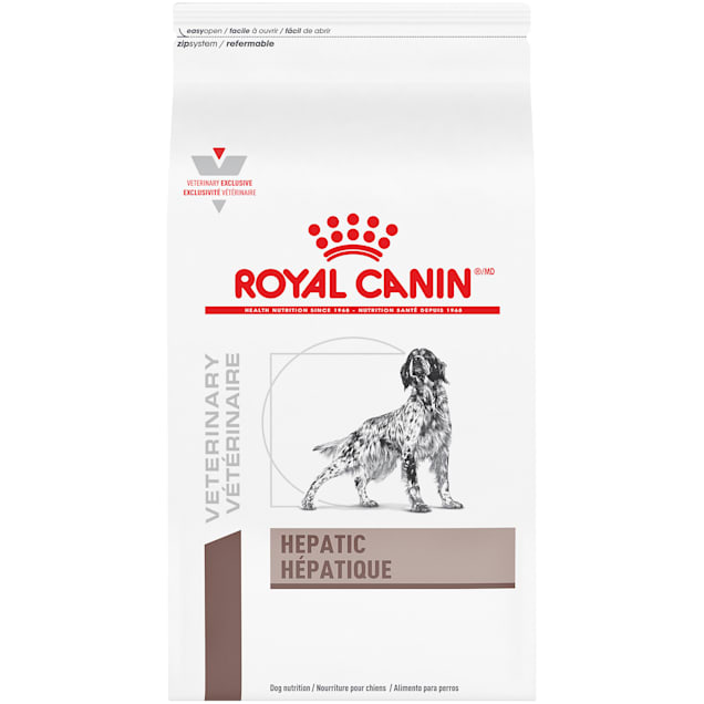 Royal Canin Veterinary Diet Hepatic Dry Dog Food, 26.4 lbs. - Carousel image #1