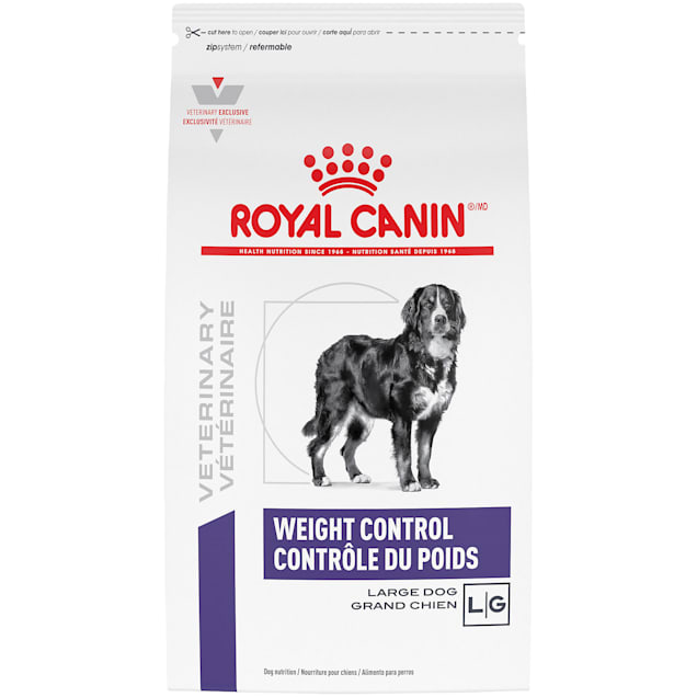 Royal Canin Veterinary Diet Nutrition Canine Weight Control Large Dog Dry Dog Food, 24.2lbs. - Carousel image #1