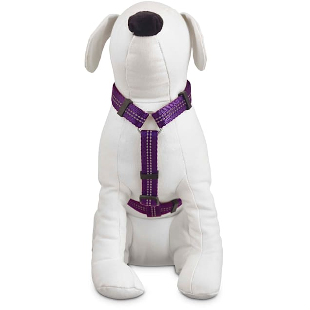 Good2Go Reflective Adjustable Dog Harness in Purple, Large/X-Large - Carousel image #1