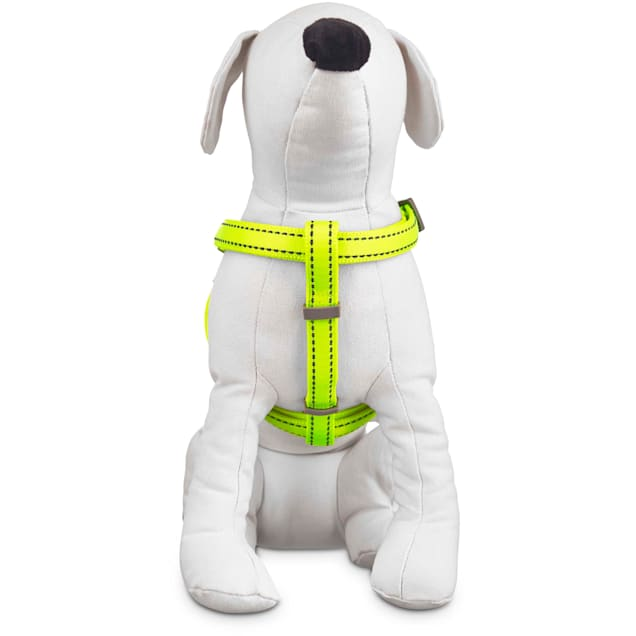 Good2Go Reflective Adjustable Padded Dog Harness in Yellow, Large/X-Large - Carousel image #1