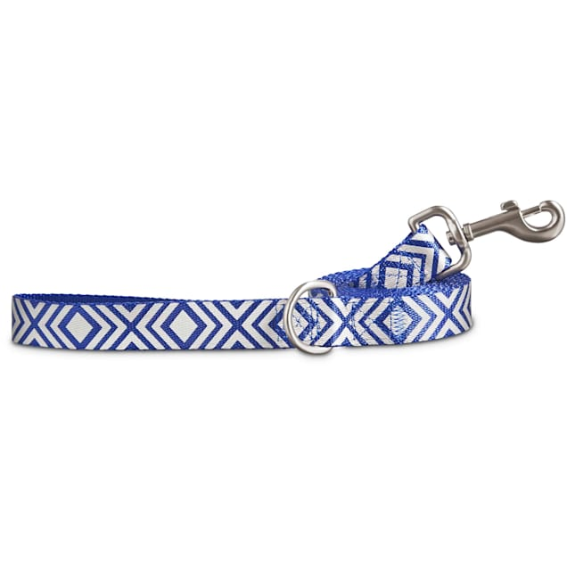 Good2Go Reflective Blue Diamond Dog Leash, 6 ft. - Carousel image #1