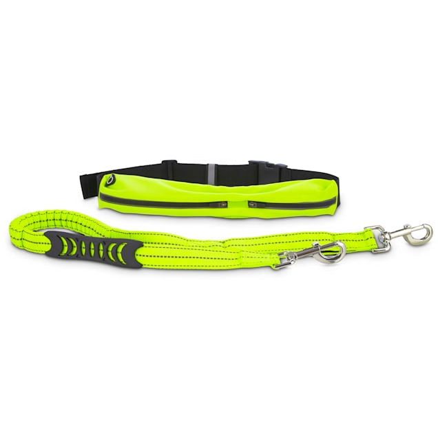 Good2Go Active Running Lead for Dogs in Yellow Lead - Carousel image #1