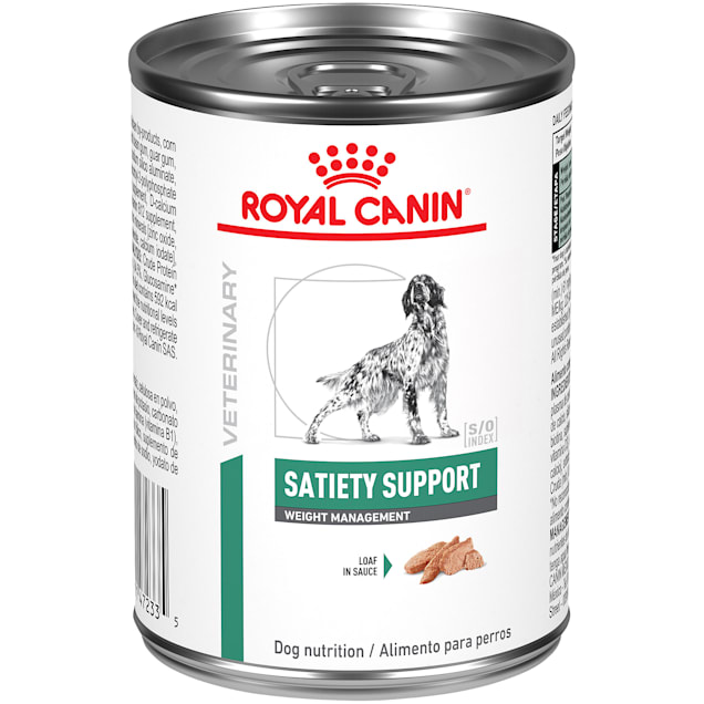 Royal Canin Veterinary Diet Satiety Support Weight Management Wet Dog Food, 13.4 oz., Case of 24 - Carousel image #1