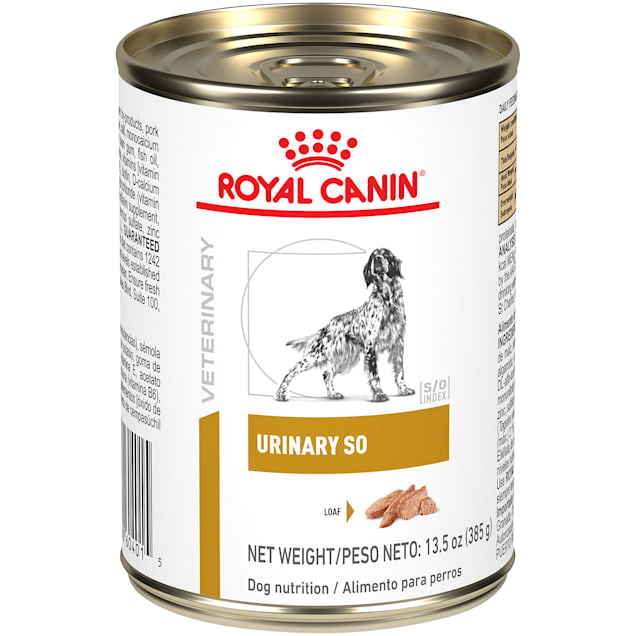 Royal Canin Veterinary Diet Urinary SO Wet Dog Food, 13.5 oz., Case of 24 - Carousel image #1