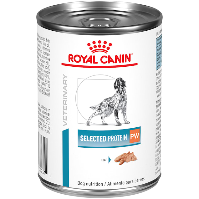 Royal Canin Veterinary Diet Selected Protein Potato and Whitefish Adult Wet Dog Food, 13.5 oz., Case of 24 - Carousel image #1