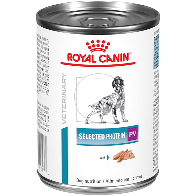Royal Canin Veterinary Diet Canine Selected Protein Adult PV In Gel Wet Dog Food, 13.6 oz., Case of 24 - Carousel image #1