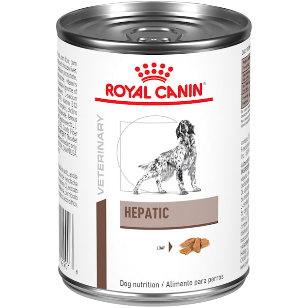 Royal Canin Veterinary Diet Hepatic Loaf Wet Dog Food, 14.5 oz., Case of 24 - Carousel image #1
