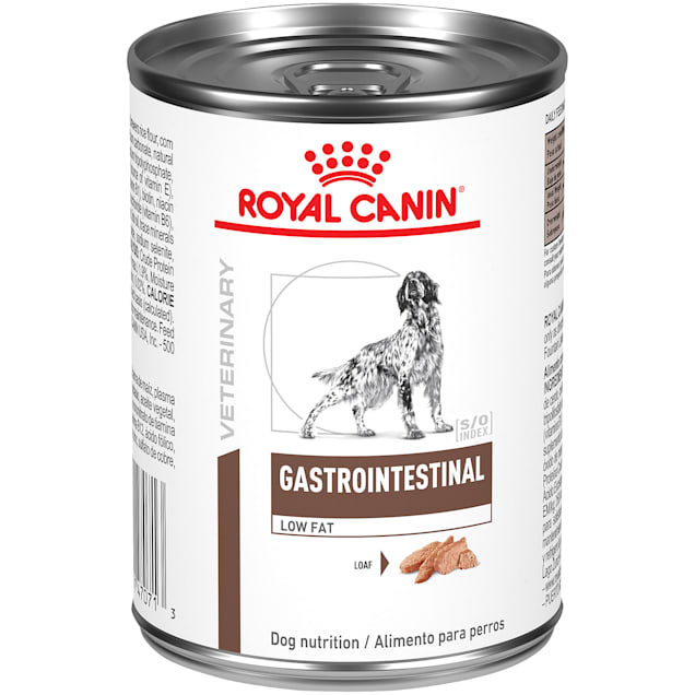 Royal Canin Veterinary Diet Gastrointestinal Low Fat Loaf Wet Dog Food, 13.6 oz., Case of 24 - Carousel image #1