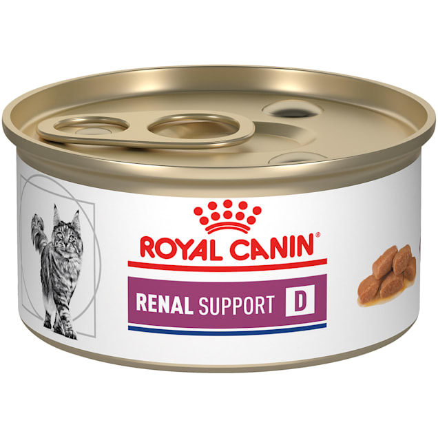 Royal Canin Veterinary Diet Renal Support D (Delectable) Wet Cat Food, 3 oz., Case of 24 - Carousel image #1