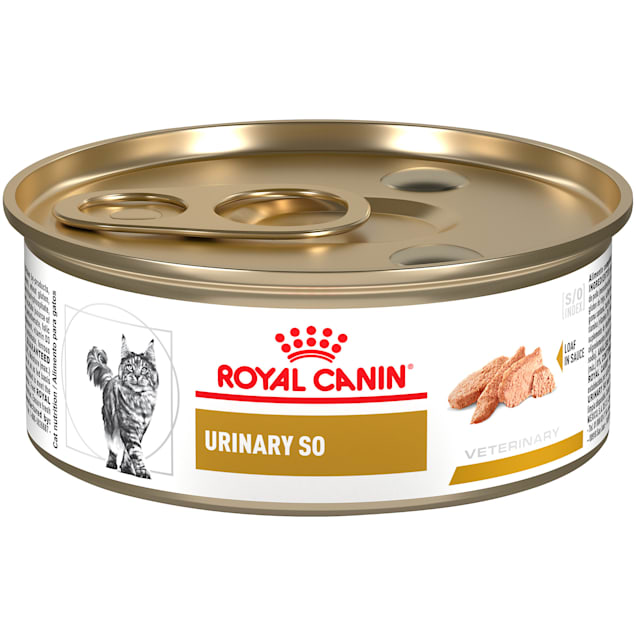 Royal Canin Urinary SO Loaf in Sauce Wet Cat Food, 5.8 oz., Case of 24 - Carousel image #1