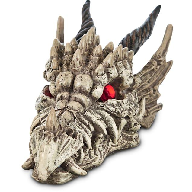 Imagitarium Sorcerous Dragon Skull Aquarium Ornament, Small - Carousel image #1