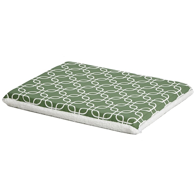 "Midwest QuietTime Defender Series Reversible Crate Green Mat for Dogs, 24"" L X 18.25"" W - Carousel image #1"