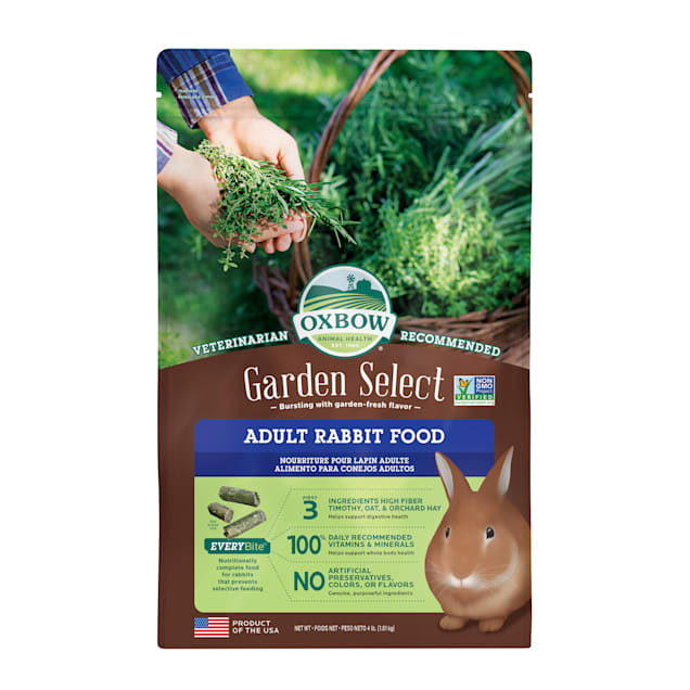 Oxbow Garden Select Fortified Food for Rabbits, 4 lbs. - Carousel image #1