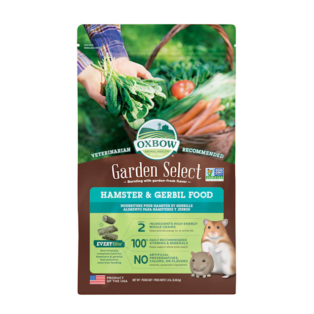 Oxbow Garden Select Fortified Food for Hamsters and Gerbils, 1.5 lbs. - Carousel image #1
