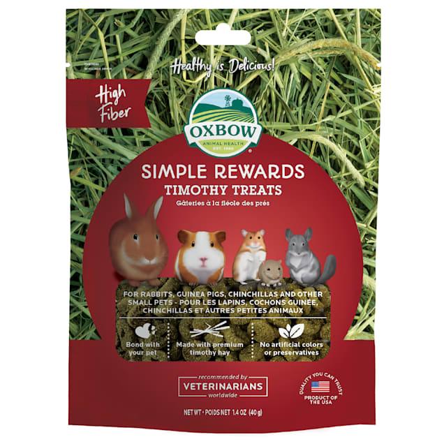 Oxbow Simple Rewards Timothy Baked Small Animal Treats, 1.4 oz. - Carousel image #1