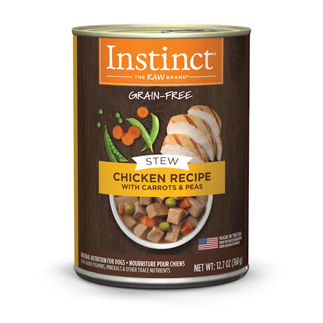 Instinct Grain-Free Stews Chicken Recipe Wet Dog Food, 12.7 oz., Case of 6 - Carousel image #1