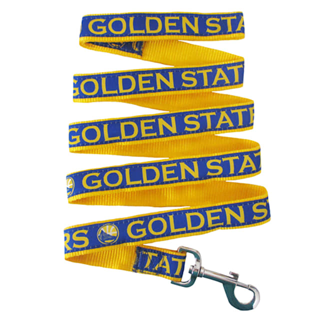 Pets First Golden State Warriors NBA Dog Leash, Small - Carousel image #1