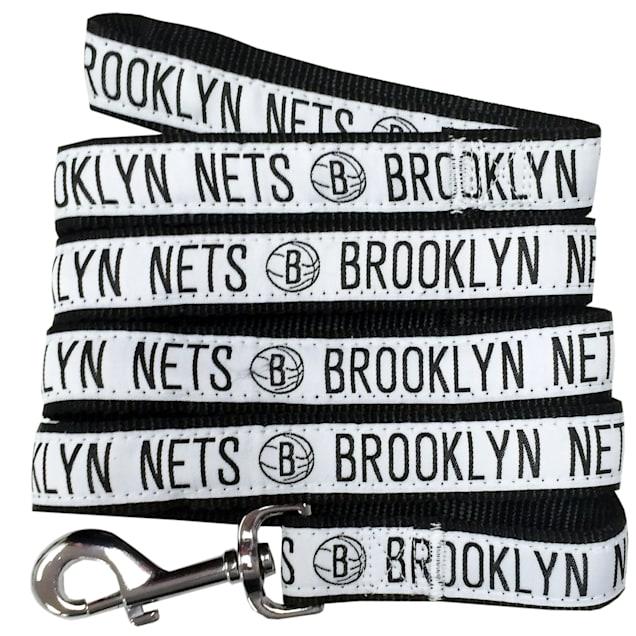 Pets First Brooklyn Nets NBA Dog Leash, Small - Carousel image #1