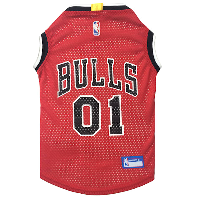 Pets First Chicago Bulls NBA Mesh Jersey for Dogs, X-Small - Carousel image #1