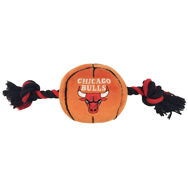 Pets First Chicago Bulls NBA Plush Basketball Toy for Dogs, X-Large - Carousel image #1