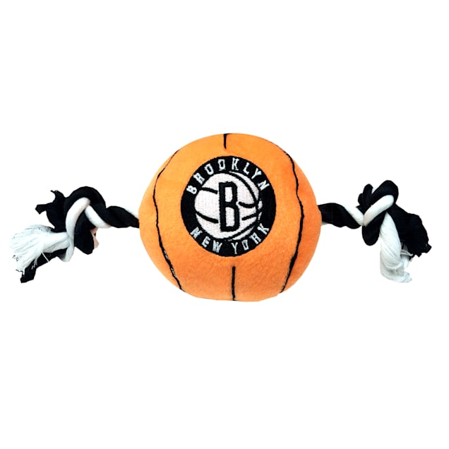 Pets First Brooklyn Nets NBA Plush Basketball Toy for Dogs, X-Large - Carousel image #1